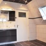 Badkamer op garage